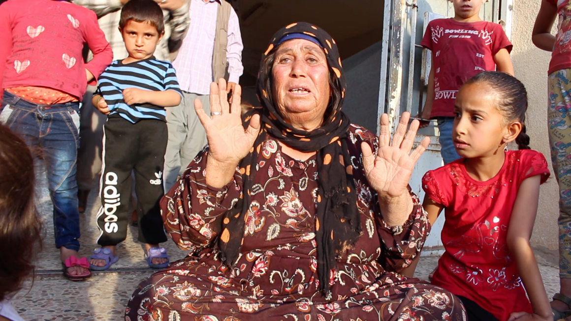 Kurdish Disabled Woman Forcibly Displaced 3 Times in Northeast Syria
