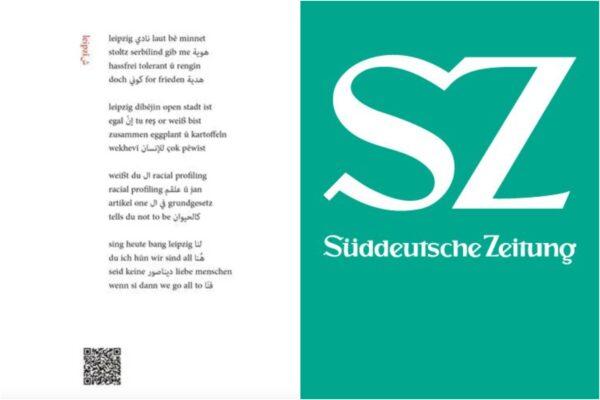 Süddeutsche Zeitung: Poesie-Puzzle in fünf Sprachen von Xoşewîst